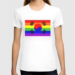 south korea gay flag T-shirt