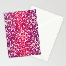 Floral luxury royal antique pattern Stationery Cards
