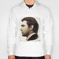 lee pace Hoodies featuring Lee Pace by LindaMarieAnson