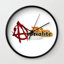 asocialite Wall Clock