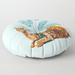 Camel Ride Floor Pillow
