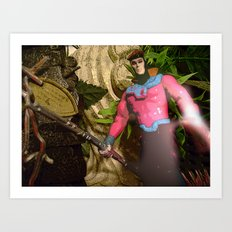 Gambit: In The Ruins Art Print