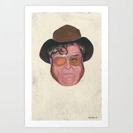 """""""Not a Good Man"""" Art Print"""