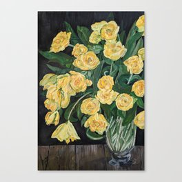 What a Rose Is Canvas Print