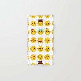 Cheeky Emoji Faces Hand & Bath Towel