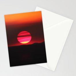 Smoky Summer Sunset Stationery Cards