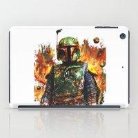 boba fett iPad Cases featuring Boba Fett by ururuty
