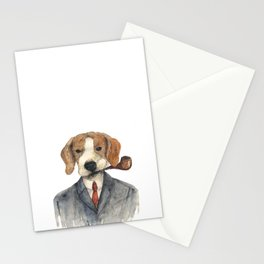Monsieur Beagle Stationery Cards
