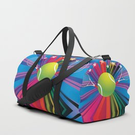 Tennis ball with rackets Duffle Bag