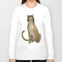 nerd Long Sleeve T-shirts featuring Nerd by Metal Gear Felidae