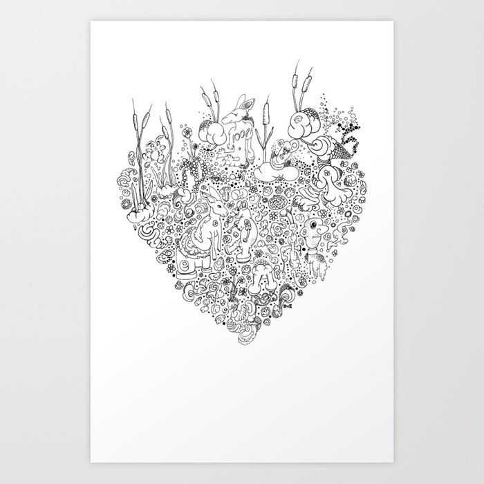 People never tell you how it feels. Art Print