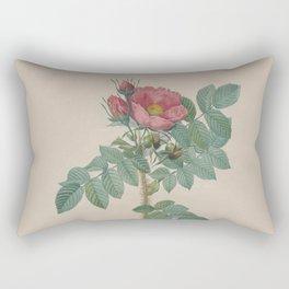 Rosa JP Redoute Rectangular Pillow