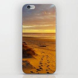 Cannon Beach Oregon at Sunset Haystack Rock iPhone Skin
