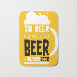 Beer Pun Bath Mat