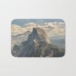 Hazy Half Dome / Yosemite National Park Bath Mat