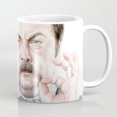 Swanson Mustache Mug