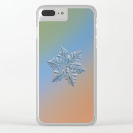 Real snowflake - 13 February 2017 - 5 Clear iPhone Case