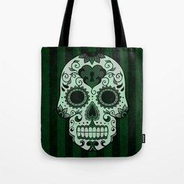 Día de los Muertos in Emerald Green Tote Bag