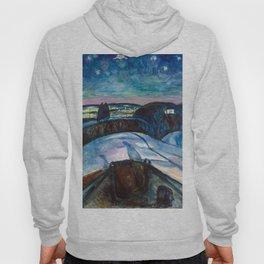 Edvard Munch - Starry Night Hoody