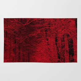 Red Forest Rug