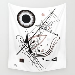 Wasilly Kandinsky Blau (Blue) 1922 Artwork Reproduction, Design for Posters, Prints, Tshirts, Men, W Wall Tapestry