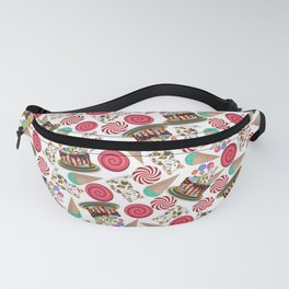 Birthday cake - Happy birthday for the loved one Fanny Pack