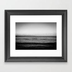 Unforgiving Sea Framed Art Print