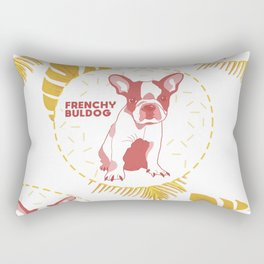 Frenchy Buldog Rectangular Pillow
