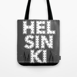 Helsinki is a Diamond City Tote Bag