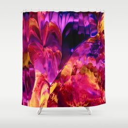 Peel Shower Curtain