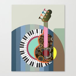 Music Theory II Canvas Print