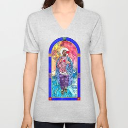 What Would Jesus Do? Unisex V-Neck