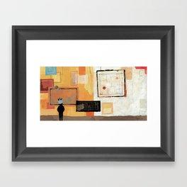 GIANT STEPS Framed Art Print
