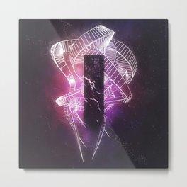 DAY 182: RGB FISSURE Metal Print