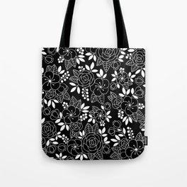 Rosalia Black Tote Bag