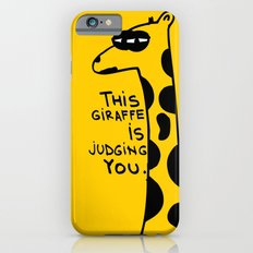 Judging Giraffe iPhone 6s Slim Case