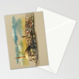 dawn in Istanbul Stationery Cards