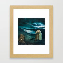 The Birth of John the Baptist Framed Art Print