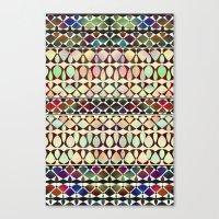 geo Canvas Prints featuring GEO by Klara Acel