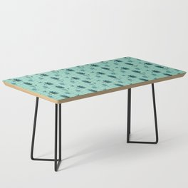 country blue flowers pattern Coffee Table