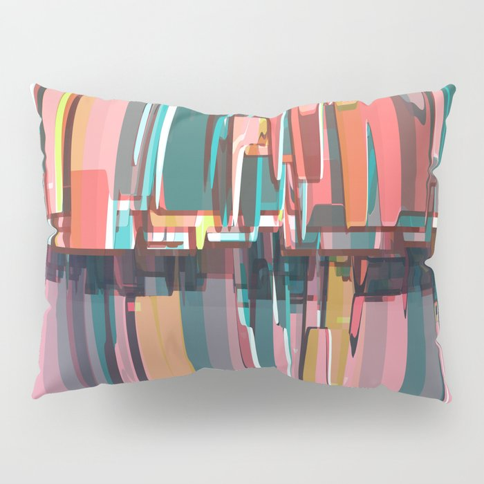 Abstract Composition 639 Pillow Sham