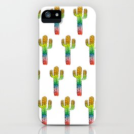 Desert Rainbow II PRIDE PATTERN iPhone Case