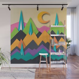 The Glass Mountains Wall Mural