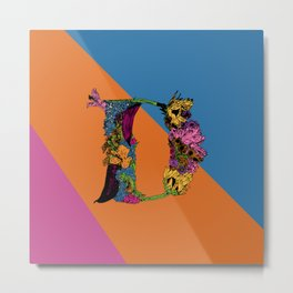 D Is For Danielle.. Metal Print