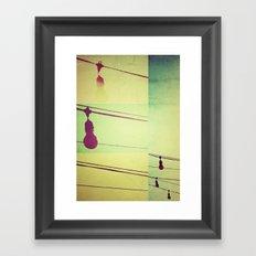 focos Framed Art Print