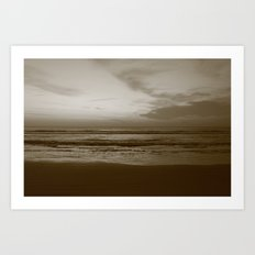 Lost Dark Sea Art Print