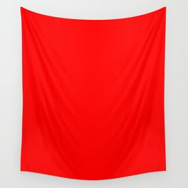 Scarlet Wall Tapestry