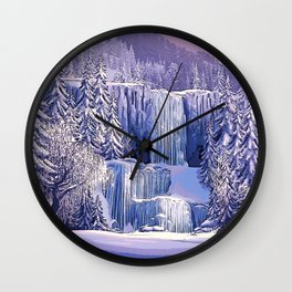 Frozen - The North Mountain Wall Clock