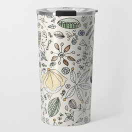 Circulo de flores Travel Mug
