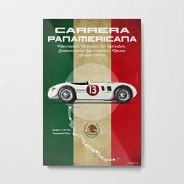 Panamericana Vintage C-Type Metal Print